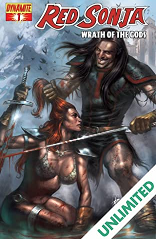 Red Sonja: Wrath of the Gods #1 (of 5)